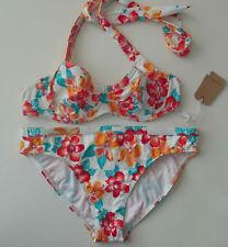 ESPRIT Badeanzug Neckholder Bikini Set Größe 36 Cup C