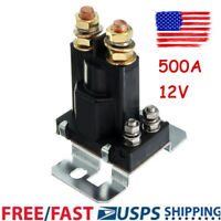 500A AMP 12V 4Pin DC High Current Relay Contactor On/Off Car Auto Power Switch M