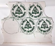4 ST. PAT'S SHRINE Embroidered Patches / Lake of the Ozarks / Crafts / NEW