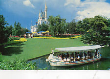 postcard USA  Florida  Walt Disney World Swan Boat    posted