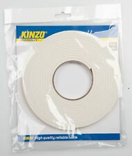 Kinzo Draught Excluder Self Adhesive Rubber Door Window Seal Strip Roll 5.5 mtr