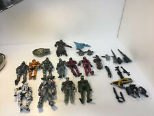 10-Halo Action Figures- with weapons-Loose