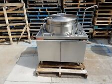 Market Forge Direct Steam Tilting Stainless Steel Jacketed Kettle 25 gallon MT25