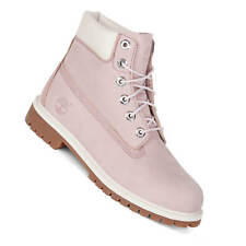 Timberland Boot Rosa Donna invernale in Pelle e Lacci 34992 - 40