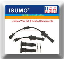 Ignition Wire Set & Related Components Fits:OEM# 27501-38B00 Hyundai Kia L4 2.4L