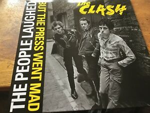 The Clash - The people laughed but the press went mad LP  New Unplayed
