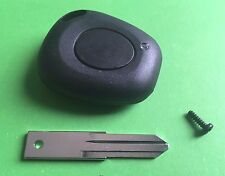 For Renault Laguna Safrane 1 button remote key fob case shell cover & blade