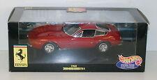 HOT WHEELS 1/18 21353 FERRARI 365 GTB 4 1968 RED