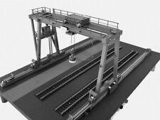 Bauplan Brückenkran Modellbauplan