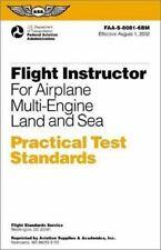 New Flight Instructor for Airplane Multi-Engine Land & Sea Practical Test
