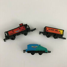 Vintage Galoob Micro Machines Assorted Trains Pieces 1989