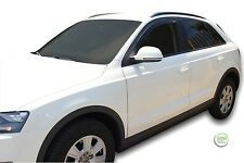 AUDI Q3 2011-up  SET OF FRONT WIND DEFLECTORS HEKO TINTED 2pc