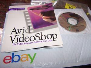 Avid VideoShop 3.0 for vintage Macintosh - New Old Stock