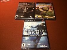 LOT OF 3! NEW SEALED PS2 PLAYSTATION 2 GAMES! Airborne Troops, Shrek, Minority..