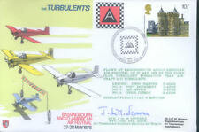 AD40 The Turbulents RAF flown Cover 1978 signed AVM Severne