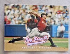 2005 Fleer Ultra Roy Oswalt Astros Baseball Card
