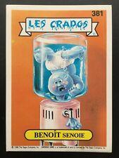 Les Crados BARNABÉ Plombé n°99 Garbage Pail Kids 1987 série 2 GPK Fr Topps TBE
