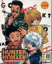 DVD Hunter X Hunter Season 1 TV1-92 End +OVA + Last Misson & Phantom Rouge Movie