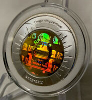 2019 CryptoImperator .01 Bit Coin 1 Oz .999 Silver - Funded Like Casascius BTCC