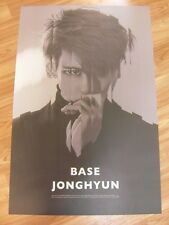 JONGHYUN (SHINee) - BASE (TYPE A) [ORIGINAL POSTER] *NEW* K-POP