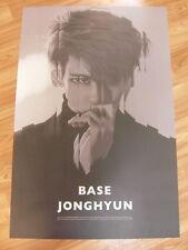 JONGHYUN (SHINee) - BASE (TYPE A) [ORIGINAL POSTER] *NEW* K-POP