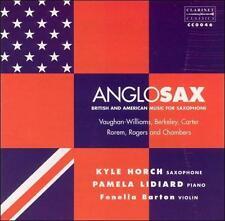 Anglosax: British & American Music for Saxophone, New Music