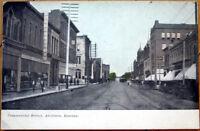 1910 Postcard: Commercial Street - Atchison, Kansas KS