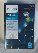 NEW Philips 70 Icicle Lights - Cool White LED