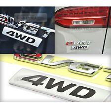 OEM Genuine Trunk eVGT + 4WD Lettering Emblem For HYUNDAI 2013-2016 Santa Fe DM