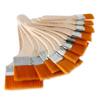 12pcs Oil Painting Brushes Artist Acrylic Panit Art Limner Supply Set O9G2