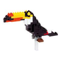 Nanoblock Toucan Building Kit 3D Puzzle
