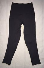 LULULEMON ZONE IN CROP PANTS TIGHTS COMPRESSION SEAMLESS SZ 4 CHARCOAL GRAY EUC
