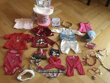 Baby Born Waschtisch mit Licht und Sound+Kleidung+zubehör Zapf Creation