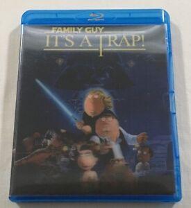 Family Guy: It's a Trap (2010) - Lenticular Blu-Ray + DVD Region B/4 | VGC