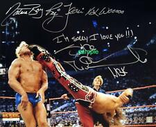 SHAWN MICHAELS RIC FLAIR REPRINT 8X10 AUTOGRAPHED SIGNED PHOTO PICTURE WWE RP