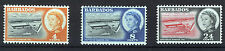 BARBADOS 1961 DEEP WATER HARBOUR BLOCKS OF 4 MNH