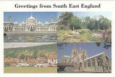 (24069) Carte postale - Voeux à Partir De Sud De l'est Angleterre