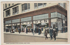 GEORGE HOLDEN RARE BIRD & FISH STORE, 5TH AVE & 30TH ST. NYC