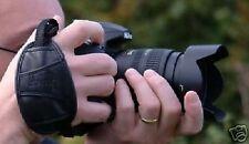Ajustable De Cuero Cámara grip/strap se adapta a mayoría Nikon, Canon, Samsung, Sony Dslr