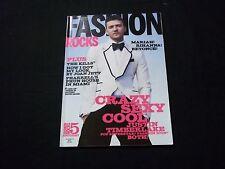 2008 FALL FASHION ROCKS MAGAZINE - JUSTIN TIMBERLAKE - GREAT COVERS - C 4125