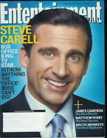 STEVE CARELL The Office WILLIAM HURT John Krasinski, RAINN WILSON 2006 EW Rain