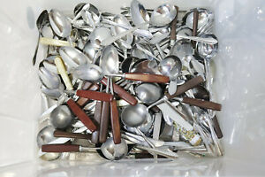LARGE 6KG Job Lot of Vintage Stainless Steel Spoons, Forks,Knives Cutlery - 232