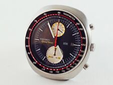 1968 SEIKO SPEED TIMER 6138-0011 0015T DAY & DATE DIAL RED SECOND HAND RAREST!!!
