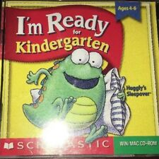 I'M READY FOR KINDERGARTEN SCHOLASTIC WIN/MAC CD -ROM FAST SHIPPING