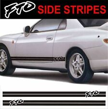side stripes fit mitsubishi fto