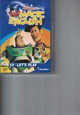 DVD - MAGIC ENGLISH - LET'S PLAY - N.10 - WALT DISNEY