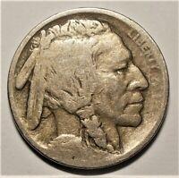 1913-D Type 1 Good (Very Weak Date) Buffalo Nickel    (5,337,000 Minted)