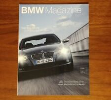 BMW MAGAZINE 335i COUPE E92 TWIN TURBO MOBILE TRADITION 328 X3 F800S COLLECTIBLE
