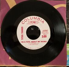Columbia 4-42947 Titus Turner I'm a Fool About my Mama  White Label Promo