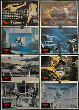 GAME OF DEATH 1979 ORIGINAL 11X14 MINT LOBBY CARD SET  BRUCE LEE GIG YOUNG